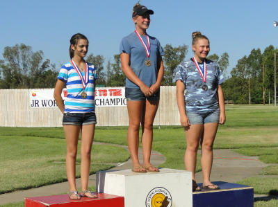 Junior World Skeet Junior Ladies Winners
