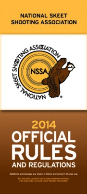 2014 NSSA Rule Book Cover